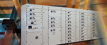 MCC switchboards with fixed compartments