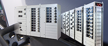 MCC switchboards with withdrawable drawers