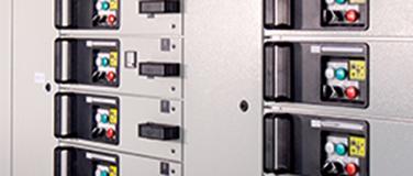 Tableaux power center à tiroirs débrochables